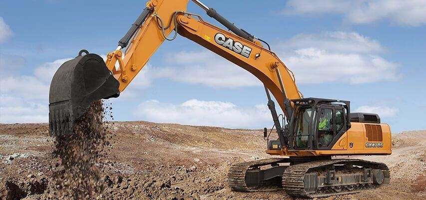 Automatic greasing for excavator