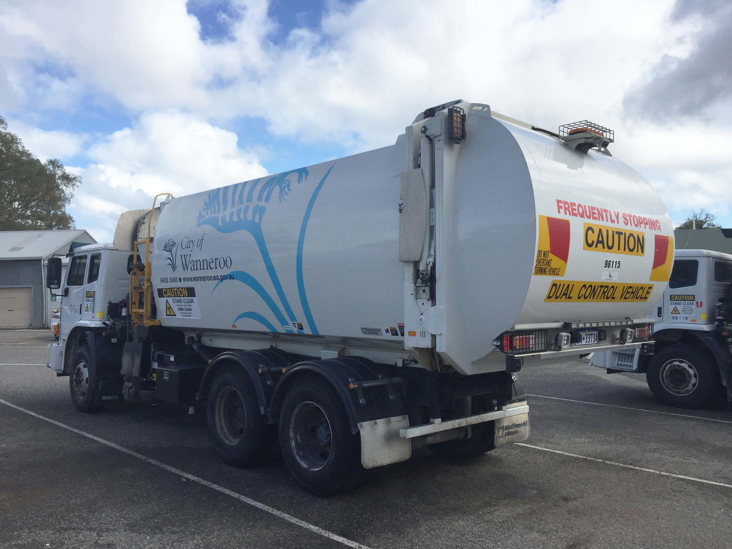 City Of Wanneroo Reduced Reversing Incidents On Waste Trucks