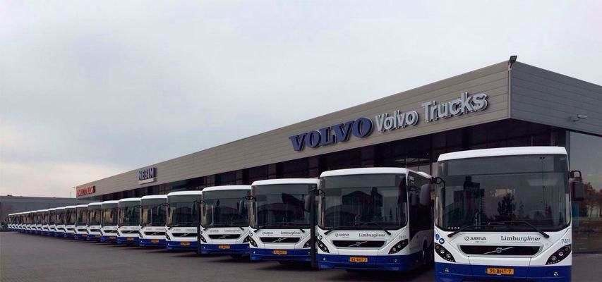 Volvo buses equipped with the Groeneveld Oilmaster oil management system